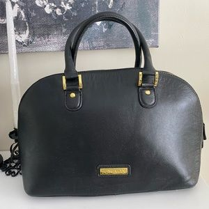 Joy & Iman Dome Purse 100% Pebble Leather …